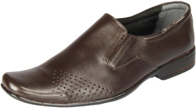 HIDEKRAFT Genuine Leather Formal Shoes Slip On