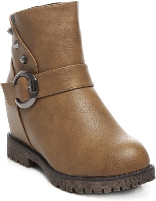 Ten Party & Casual Boots Boots(Tan)