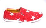 Roony Canvas Shoes (Red)