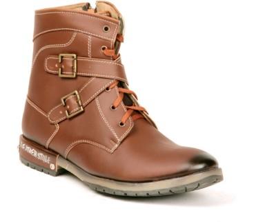 Twee broer 1549-brown Boots