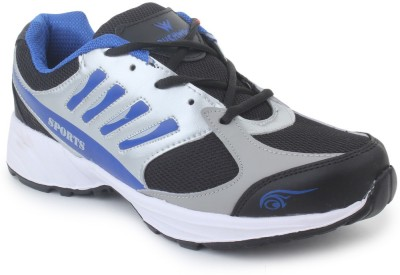 TOUCHWOOD Viber Black/Grey Sports Running Shoes