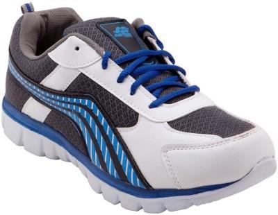Just Go Men Trendy Design Grey White Sports Running Shoes