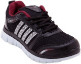 Just Go Men Comfortable Black Maroon Spo...