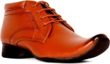 Sam Stefy Lace Up Shoes (Tan)