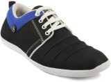 Dox Black Casual Shoes (Black)