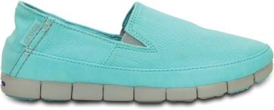 Crocs Loafers(Blue, Grey)