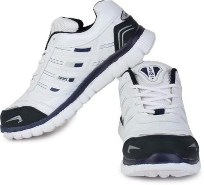 Leo-Max White Running Shoes