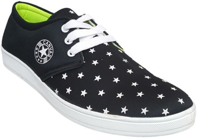 Hitmax STAR Blue Canvas Shoes