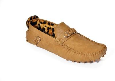 Ztoez Classy Light Brown Loafers