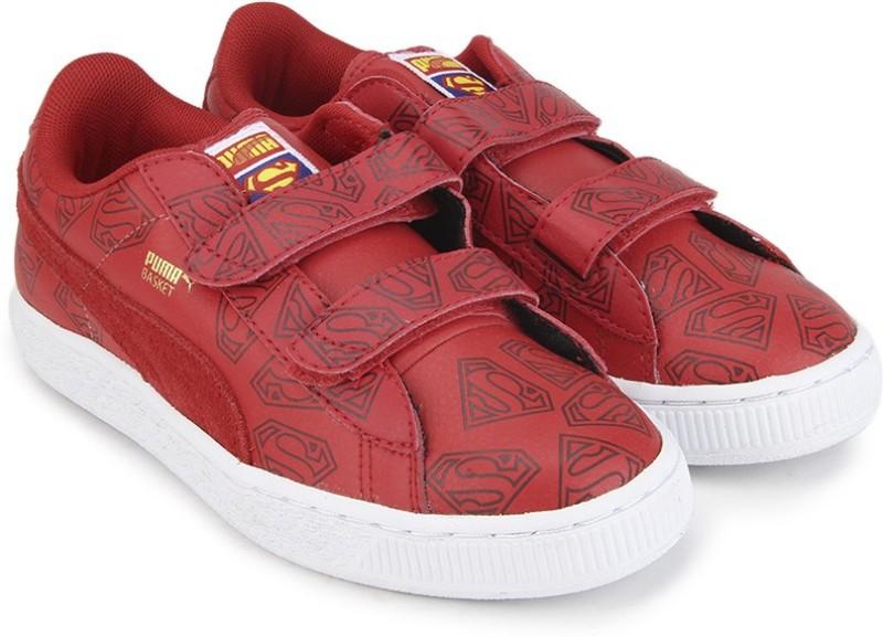 Puma Basket Superman V Kids Casual Shoes