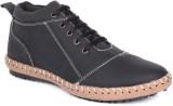 Haroads Ankle Half Length Boots (Black)
