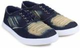 Spectrum Canvas Shoes (Blue)