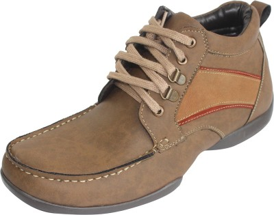 Alleviater Leather Shoes for Men Boots