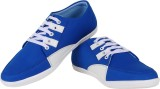 Satya Sales White Accents Sneakers (Blue...