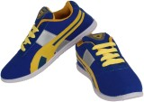 Chargers Running Shoes (Blue, Yellow)