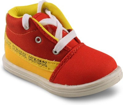 Amvi Kick Red Casual Shoes