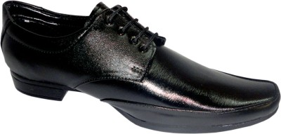 ACTIVA Black Party Lace Up Shoes