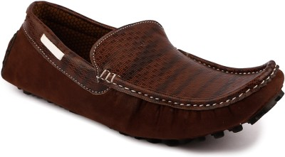 True Soles TCL119 Loafers(Brown)