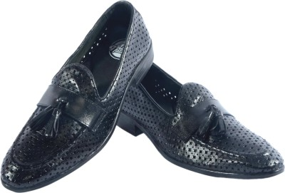 URBAN NATION Breathable Exotic Crafted Leather Slip On Loafers, Corporate Casuals