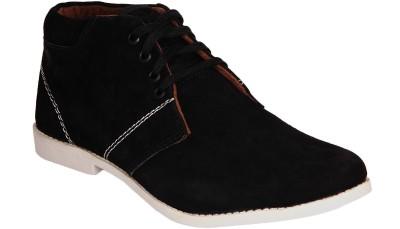 Kohinoor Space Black Casual Shoes