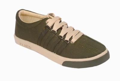 Fluid Green Canvas Shoes