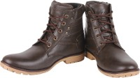 Buenos Solid Grace Boots(Brown)