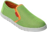 Leather Mart Canvas Shoes (Green)