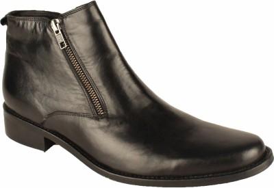 Salt N Pepper 14-323 Zindabad Black Ankle Boots
