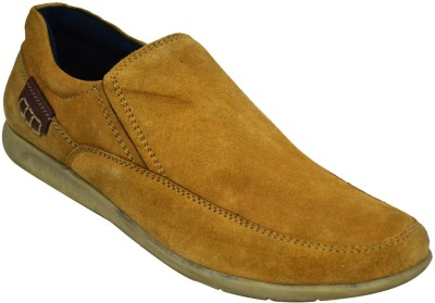 Human Steps Leather Casual Shoes