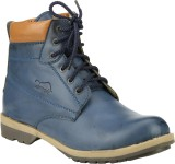Step Mark Ffb-1405-Blue Boots (Blue)
