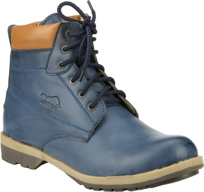 Step Mark Ffb-1405-Blue Boots