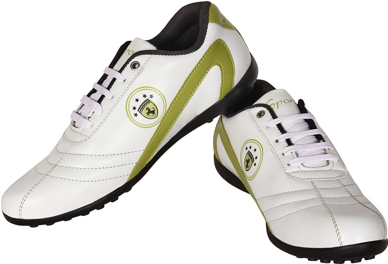 Nexq Walking Sports Green Walking ShoesWhite Green