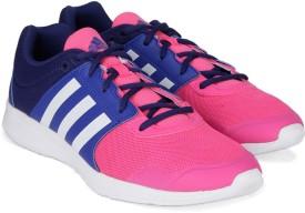 Adidas ESSENTIAL FUN II W Training Shoes(Navy, Pink)