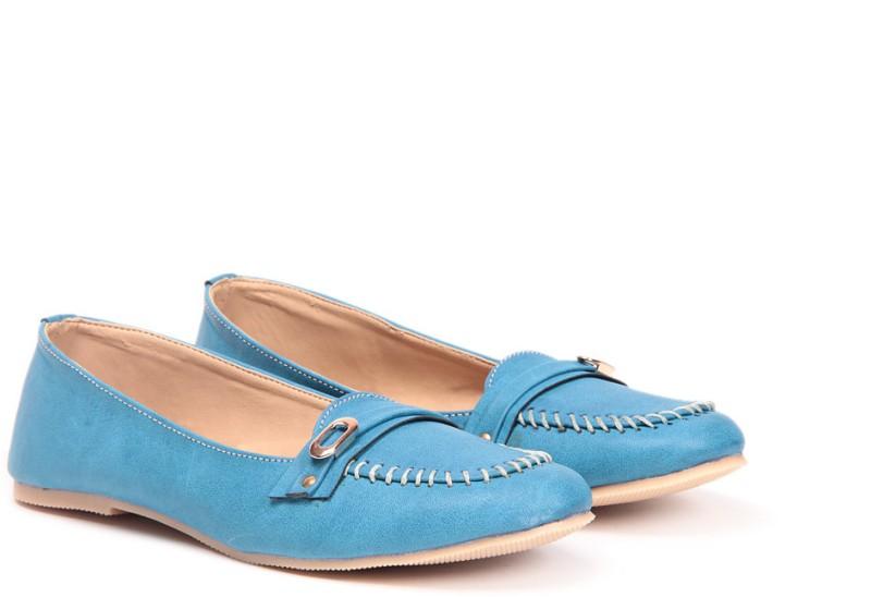 TEN Sober Blue Loafers(Blue)