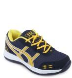 TPL Black & Yellow Running Shoes (Black,...