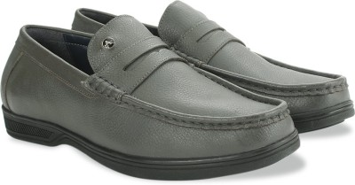 Arrow Formal Moc Loafers(Grey)