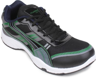 Columbus Running Shoes(Black, Green)
