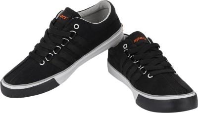 Sparx Subtle Grace Canvas Shoes(Black, White)