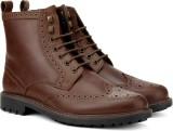Allen Solly Boots (Brown)