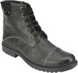 Delize T-0014-BLACK Boots (Black)