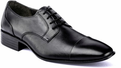 Nudo Ox Black Lace Up Shoes