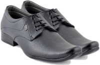 Foot n Style FS316 Lace Up Shoes(Black)