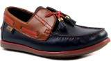 Hitz Loafers, Driving Shoes (Blue)