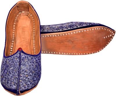 Skill India MenS Leather Mojaris