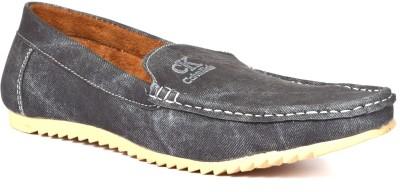 Walk Free Refined Black Loafers