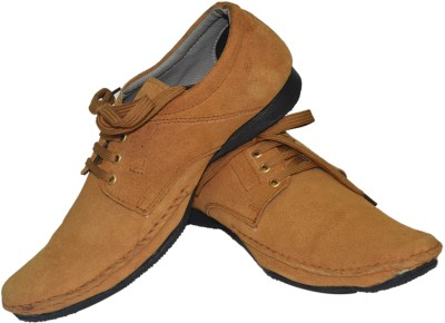 Black Sands Suede Leather Casual Shoes