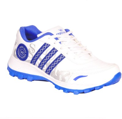 Twd Eva 034 Wht Blu Running Shoes