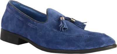 Urban Nation Single Piece Suede Slip On With Metal Tassel Casuals