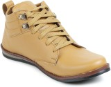 Footrest Casual Shoes (Brown)