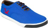 Hansx Canvas Footwear Casual Shoes (Blue...